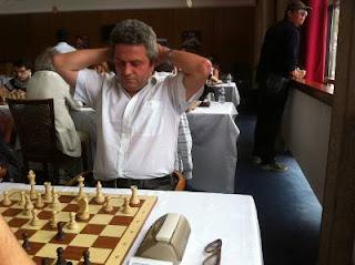 Echecs à Dieppe : le grand-maître français d'origine roumaine Andreï Istratescu © Chess & Strategy
