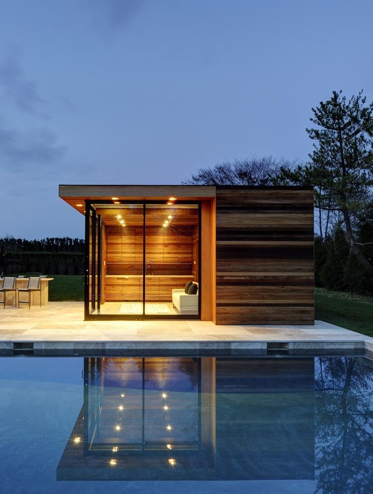 World of Architecture Modern Wood House by Bates Masi Architects