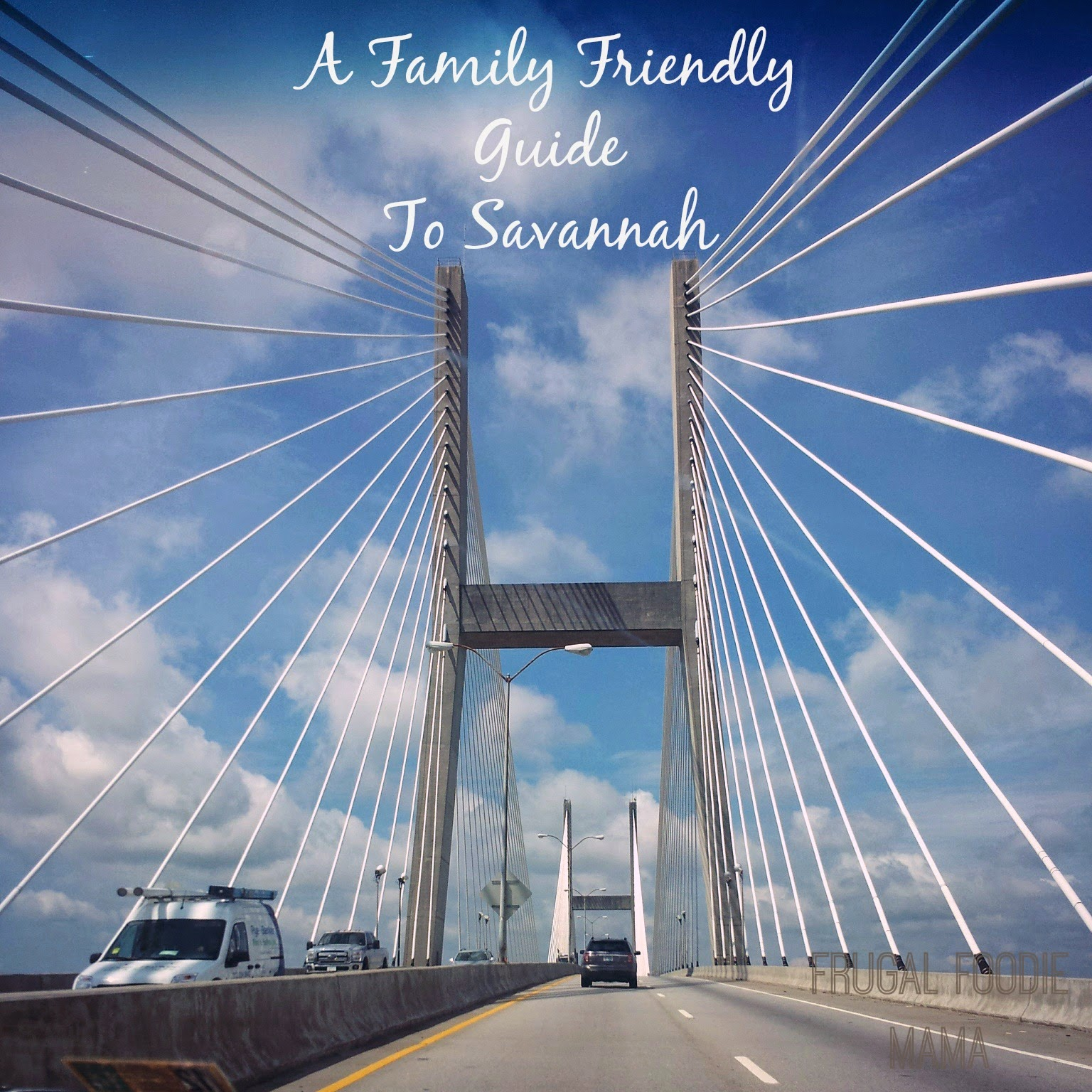 A Family Friendly Guide to Savannah via thefrugalfoodiemama.com #VisitSavannah #travel #familytravel