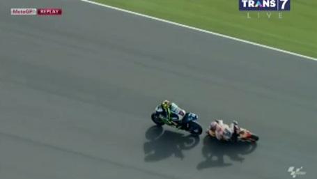 Rossi Overtake Marquez - Hasil Moto GP Argentina
