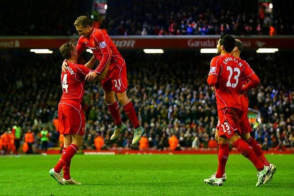 Liverpool 4-1 Swansea