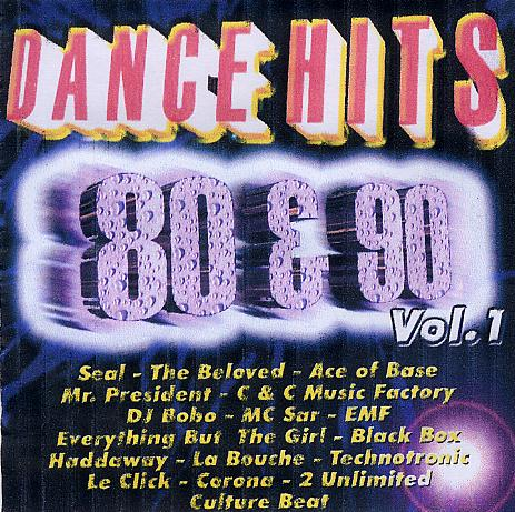 Dance vs house dance hits 80 y 90 vol 1 for 90s house music hits