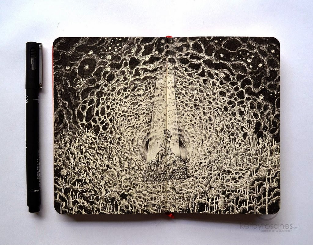 03-Nausicaa-Kerby-Rosanes-Detailed-Moleskine-Doodles-Illustrations-and-Drawings-www-designstack-co