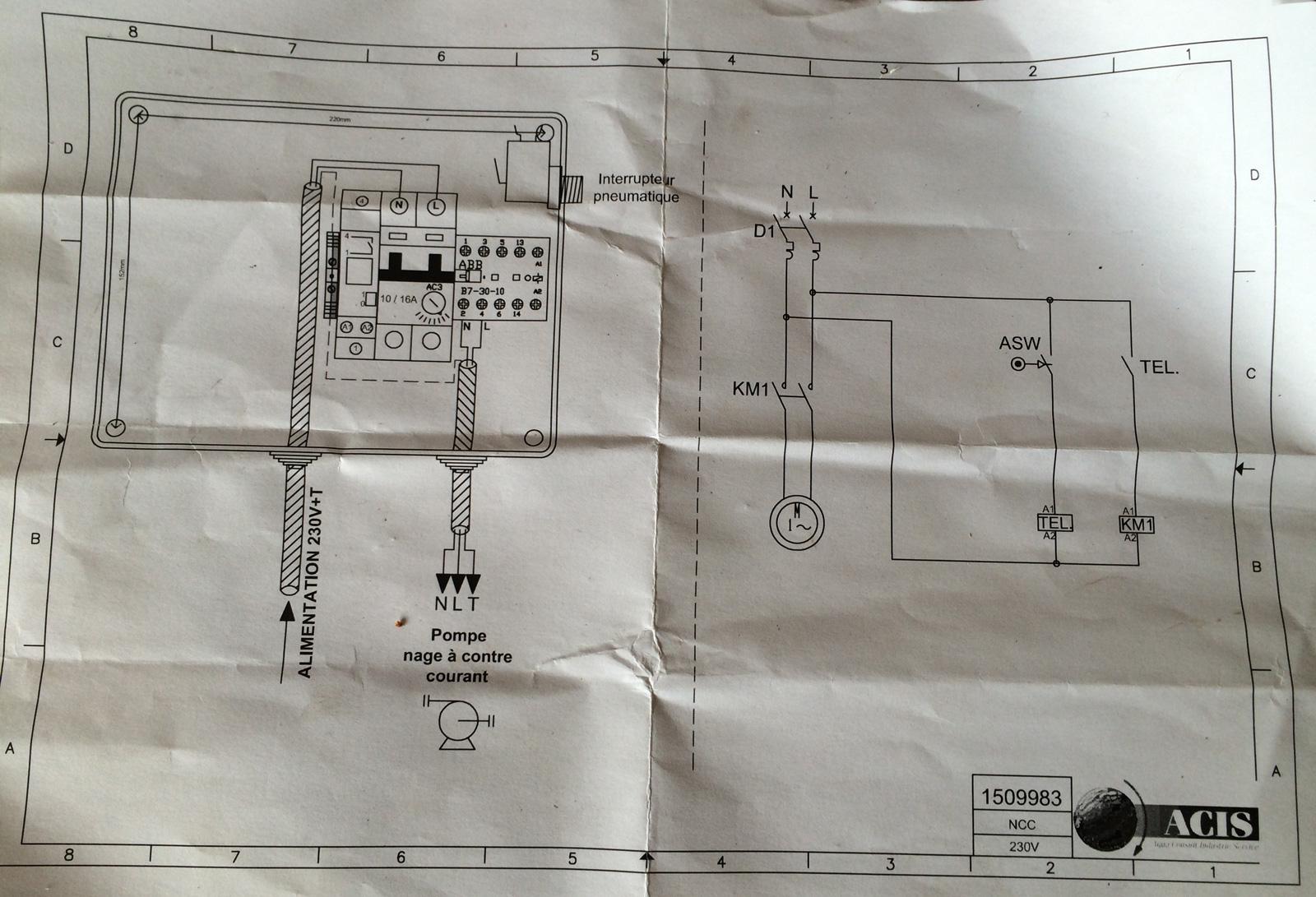 Branchement du tableau electrique pour la piscine et pour for Tableau electrique pour piscine