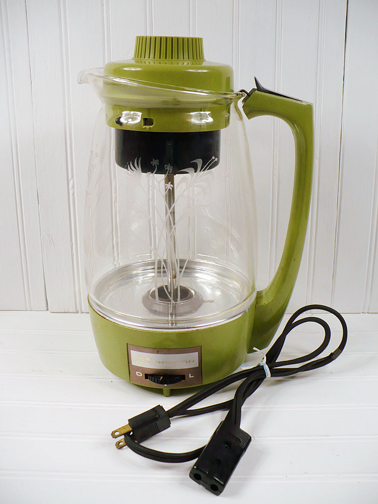 How To Use Vintage Coffee Maker : Vintage Goodness 1.0: New goodness at auction on eBay this week!