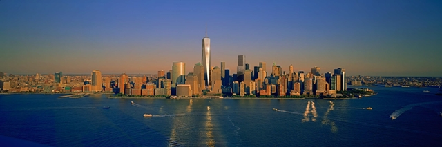 Rendering of One World Trade Center by Skidmore, Owings & Merrill LLP (SOM)