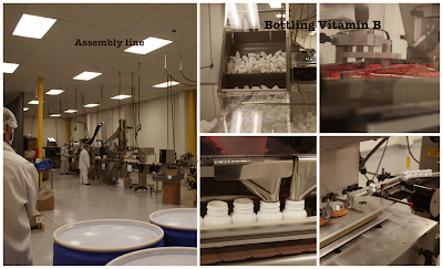 Superior Source™ assembly line and bottling vitamin b