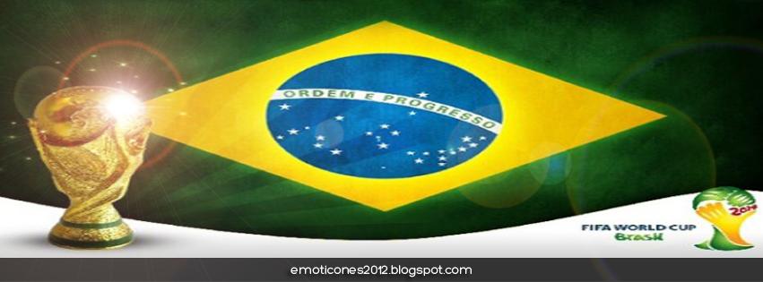 """Portada para perfiles Facebook con motivo """"Copa del Mundo Brasil 2014"""""""
