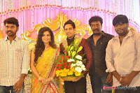 Celebraties at Actor Bharat n Jessy Wedding Reception Photos+%252827%2529 Actor Bharath n Jessy Wedding Photos