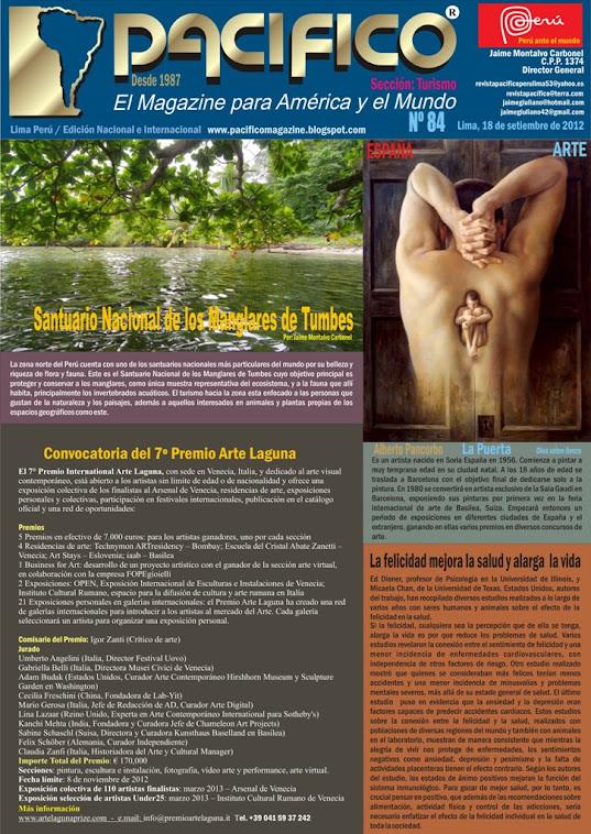 Revista Pacífico Nº 84 Turismo