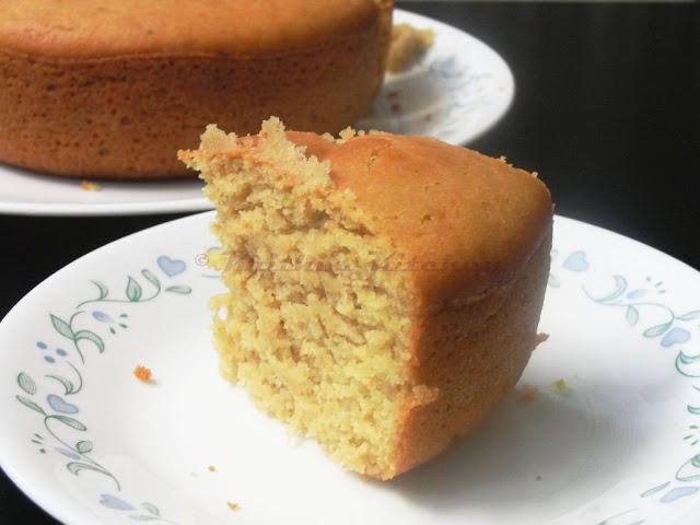 Orange Olive Oil Egg-less Cake | Eggless Cake Recipes
