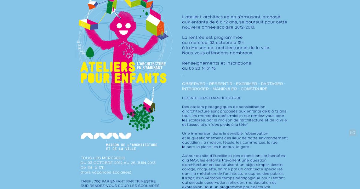 Les parents des dondaines et de cornette architecture atelier pour enfants - Architecture pour enfants ...