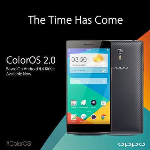 Firmware Terbaru ColorOS 2.0 Untuk Oppo Find 7