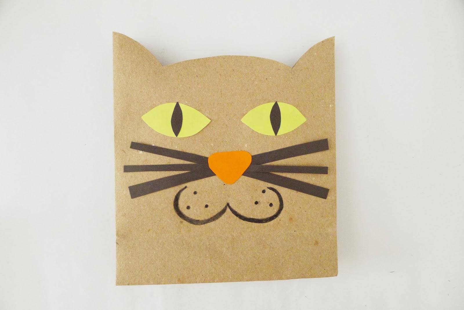 The Pink Doormat Halloween Cat Paper Bags