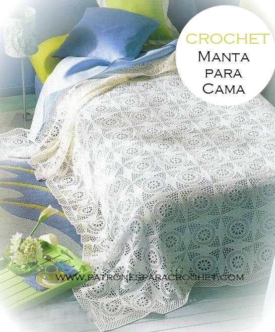 Patrones de Manta Crochet | Patrones para Crochet