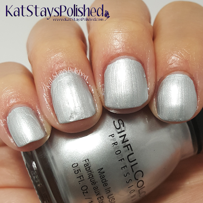 SinfulColors - A Class Act - Casablanca | Kat Stays Polished