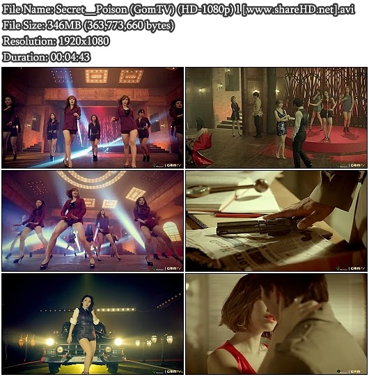 Download MV Secret - Poison (GomTV Full HD 1080p)