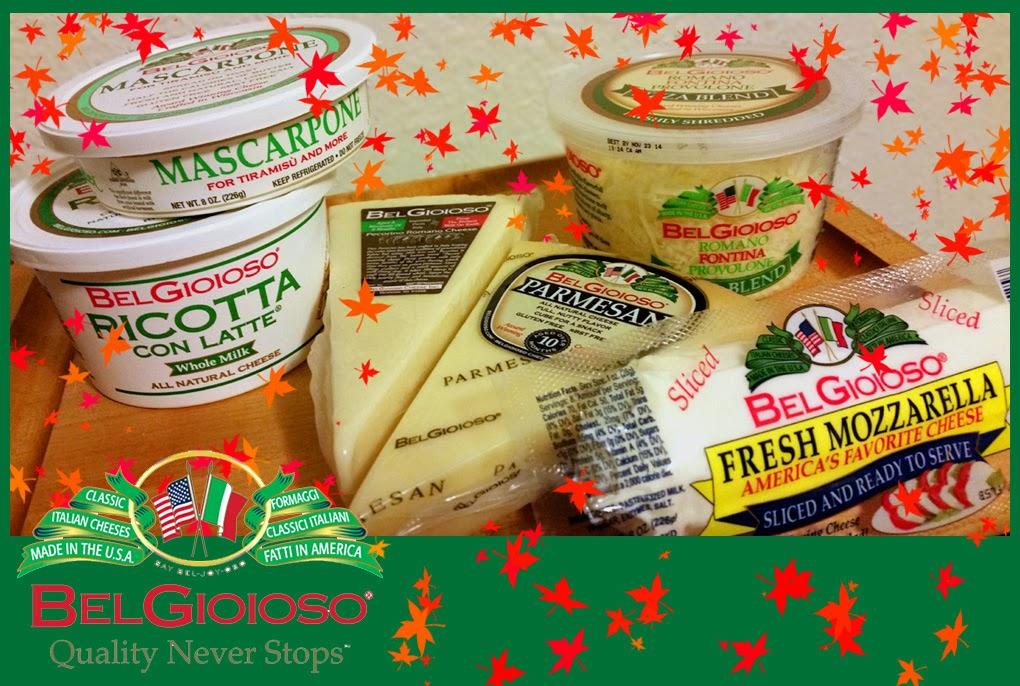 BelGioioso Cheese - Mascarpone, Ricotta, Mozzarella, Romano, Parmesan, Fontina, Provolone.