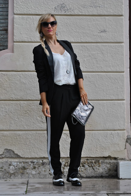 outfit mannish cosa è lo stile mannish outfit alla garçonne  outfit ottobre 2015 outfit autunnali donna mariafelicia magno fashion blogger colorblock by felym fashion blog italiani fashion blogger italiane blogger italiane di moda blogger di moda ragazze vestite da uomo mannish style how to wear in mannish style come vestirsi in stile mannish fall outfit fashion bloggers italy