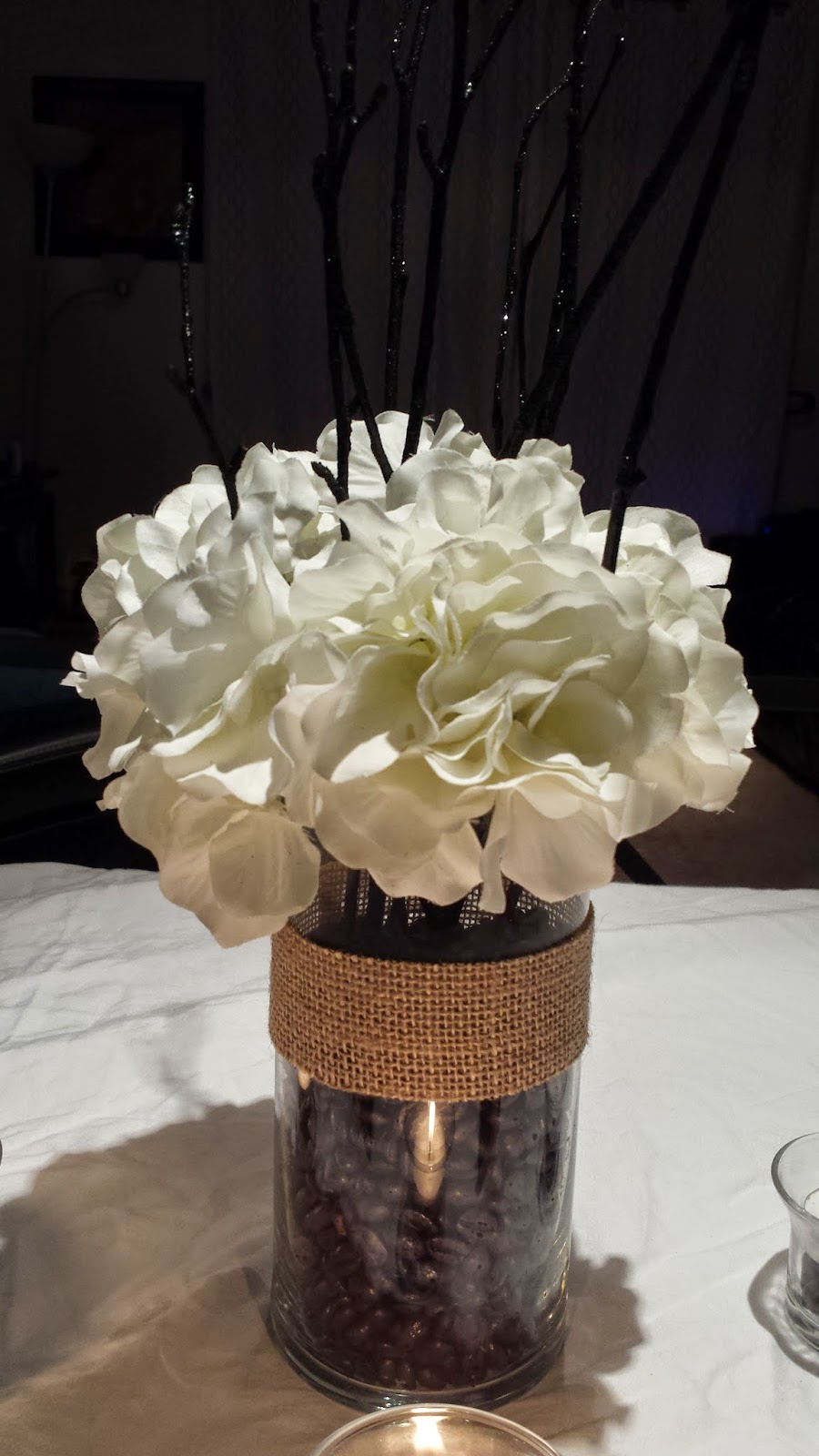 Schmidt Serletic Wedding Flowerless Centerpieces