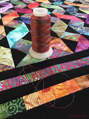 Superior Threads Rainbow 821 Carnival variegated thread
