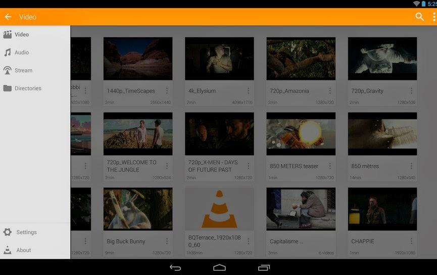 VLC - Pemutar Video Untuk Android
