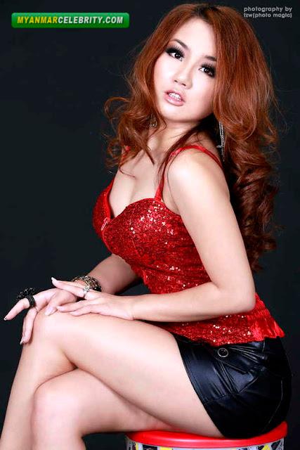 Model Nang Thiri Maung