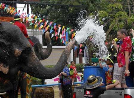 مهرجان الماء مملكة تايلاند