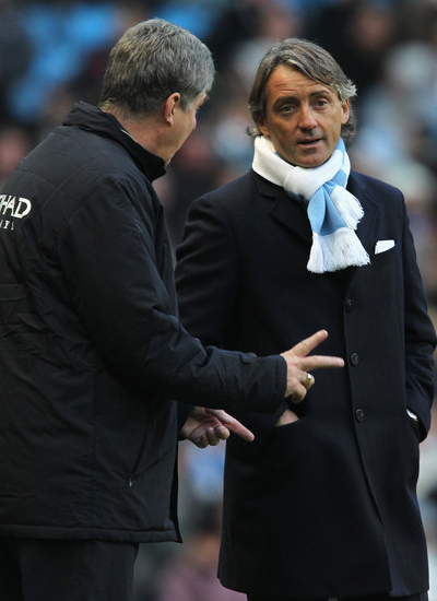 Roberto Mancini Manager Manchester City Target Transfer
