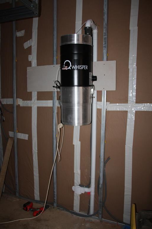 Autoconstruction de notre maison aspirateur centralis for Aspirateur maison centralise