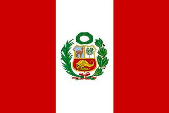 Países visitados       Peru