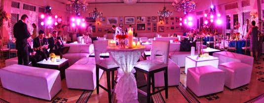 Decoracion de Bodas Lounge, parte 3