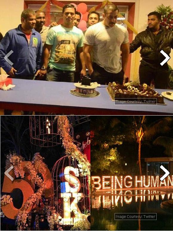 List Of Guests At Salman Khan 50th Birthday Bash In Pictures