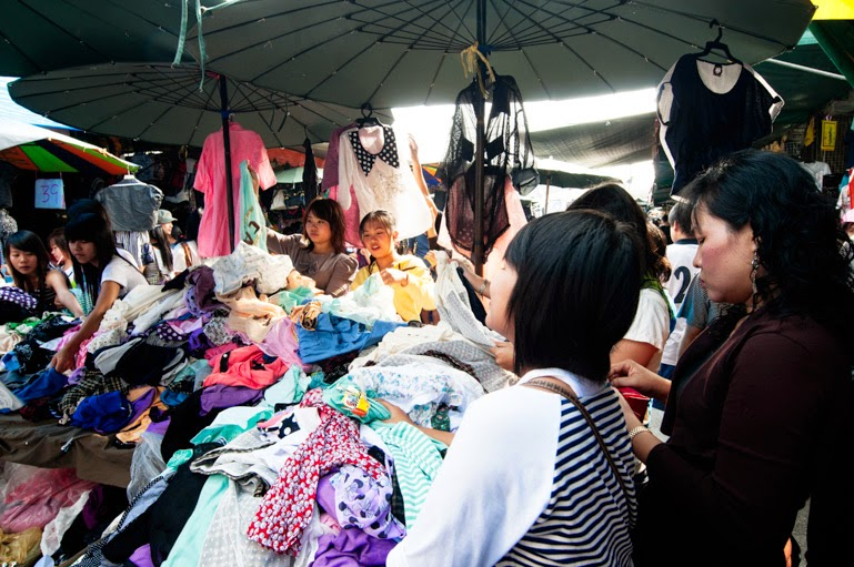 Chatuchak week end market, Bangkok, Thailand