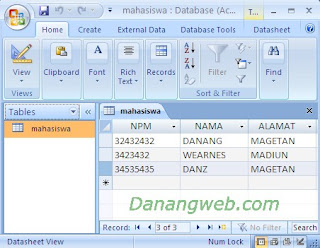 database acces