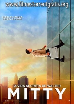 Baixar A Vida Secreta de Walter Mitty BDRip AVI Dual Áudio + Bluray Dublado 720p e 1080p Torrent