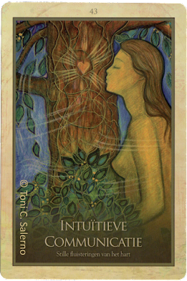 Gaia Oracle, Intuitive Communication, Toni Salerno