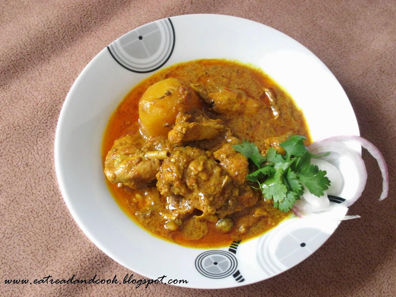how to cook robibarer murgir jhol