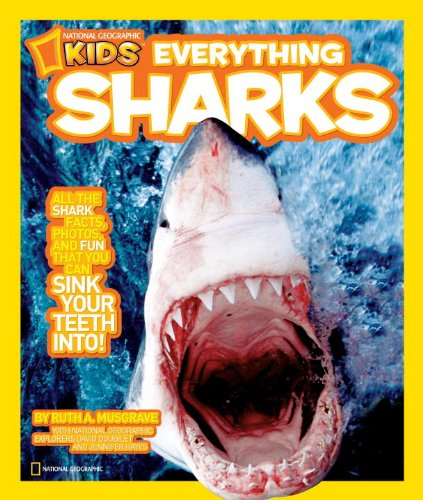 Book Cover White Teeth : Geo librarian nonfiction monday everything sharks