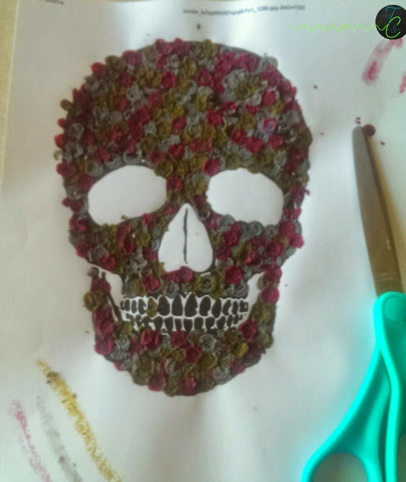 Arte de crayones- Halloween
