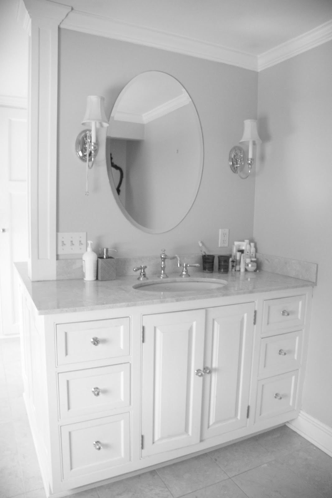 Designer Dad Studio: Master Bathroom : Easy U0026 Doable Upgrades At Lowes