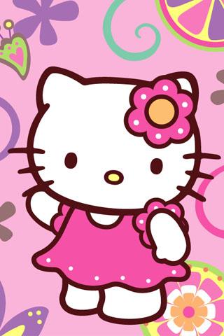 Disney Hello Kitty Cartoon Wallpaper