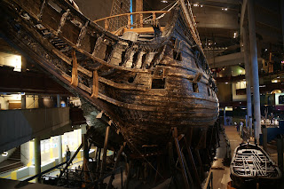 Proa del galeón Vasa