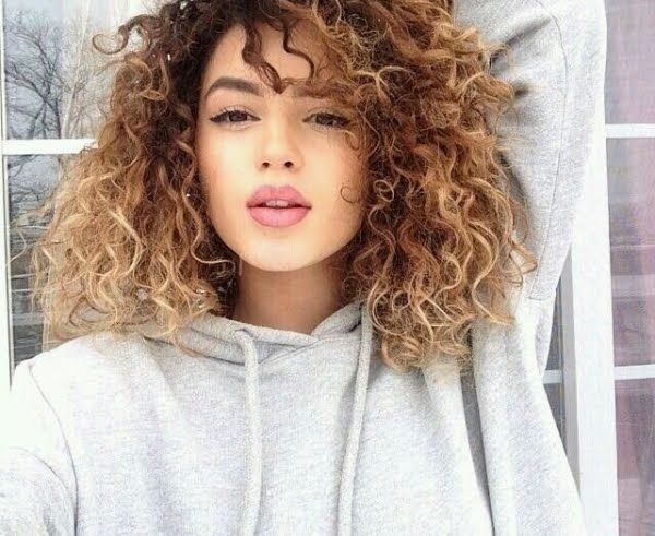 Ombre Looks Beautiful On Different Hair Types And Textures Even The Curly Girl Can Get It Will Still Look Great