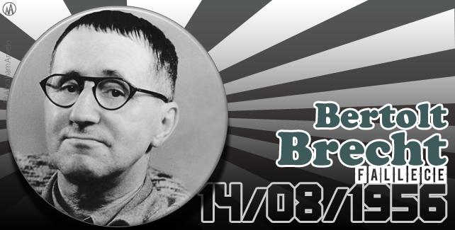 14/08/56 fallece Bertolt Brecht #undiacomoHoy
