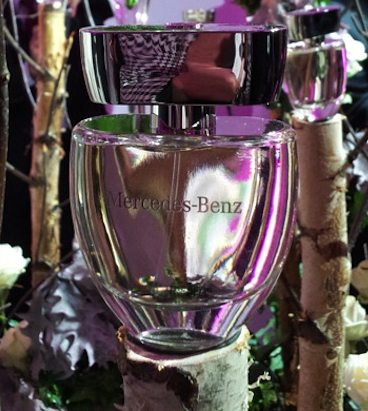 photo of bottle of mercedes benz perfume for women fragrance scent