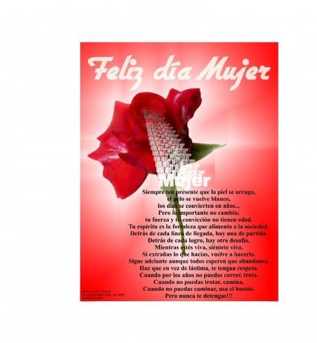 8 de marzo Día Internacional de la Mujer -