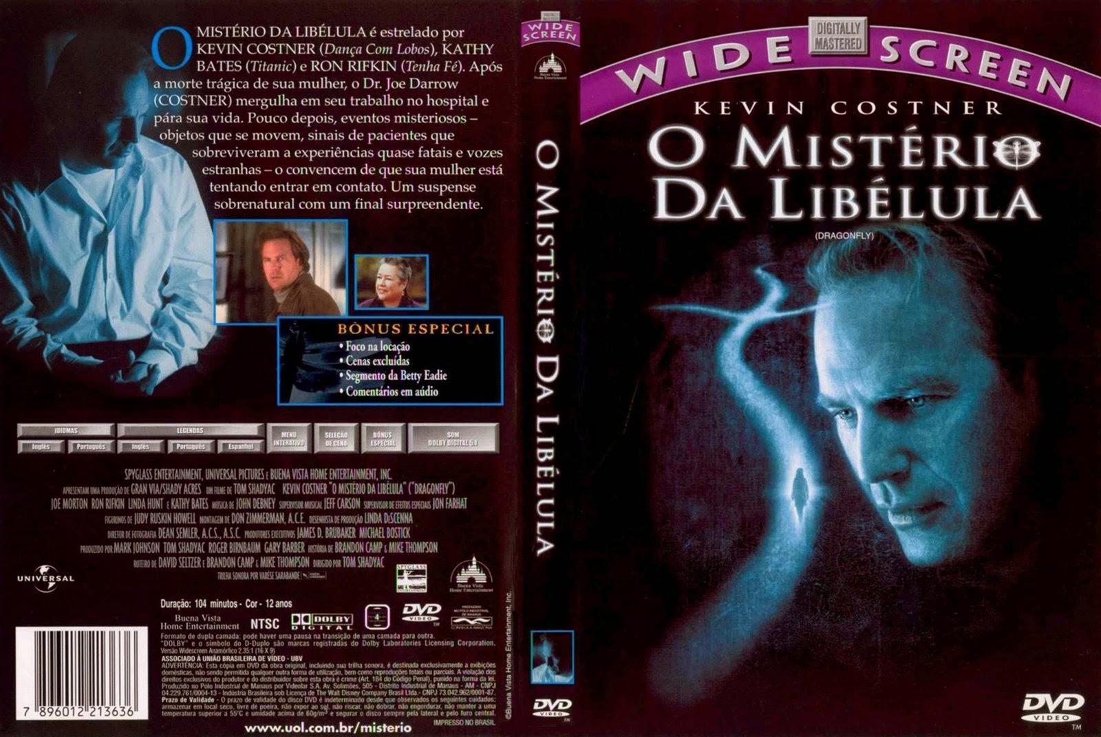 Filme O Mistério da Libélula DVD Capa