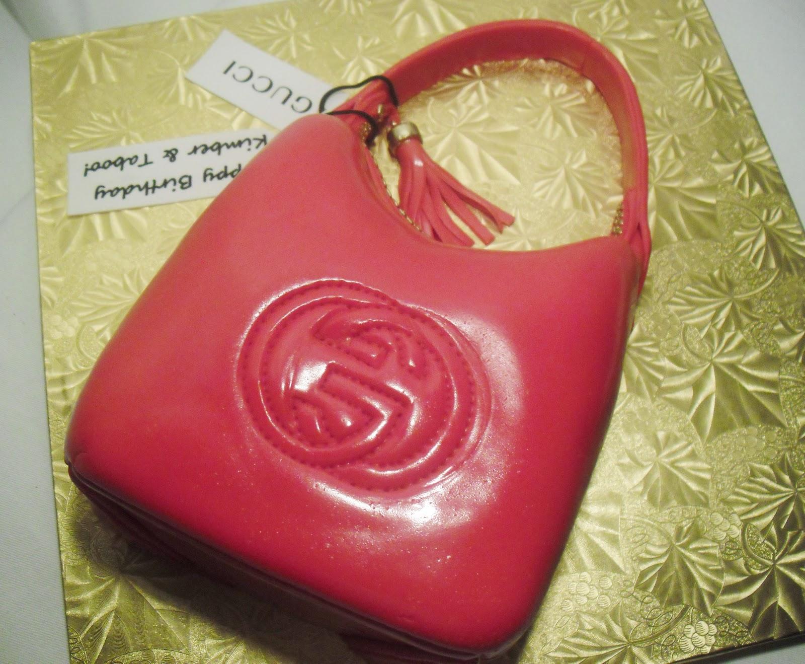 Gucci Handbag Cake Images
