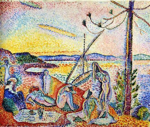 Aula particular de inglês com arte | Luxo Calma e Volúpia de Henri Matisse